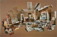 sunday morning, mayflower hotel, new york, nov. 18,'82 by david hockney