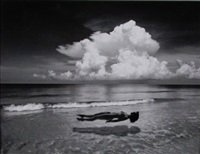 untitled (floating nude) by jerry uelsmann