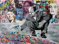 jackson pollock by mr. brainwash