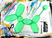 poppy (green) by mr. brainwash