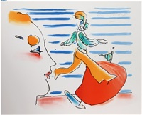 red sail by peter max