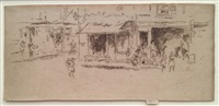 st. james place, houndsditch by james abbott mcneill whistler