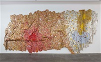 gravity and grace by el anatsui