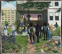 garden party by kerry james marshall