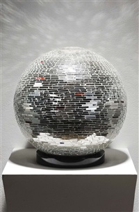 mirror ball by monir shahroudy farmanfarmaian