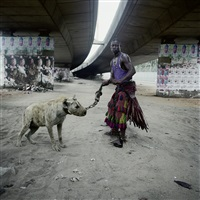 abdullahi mohammed with mainasara, lagos, nigeria (from the series the hyena and other men) by pieter hugo