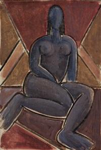 desnudo azul by wifredo lam