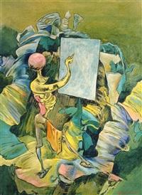 the painter by kurt seligmann