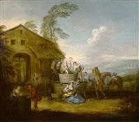 the grape harvest by jean-baptiste pater