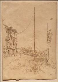 the little mast by james abbott mcneill whistler
