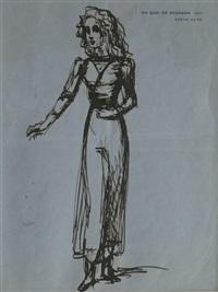 portrait of iya, lady abdy (ii) by balthus