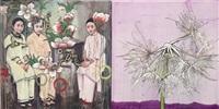 dandelions 8 by hung liu