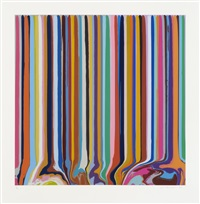 grey, levender by ian davenport