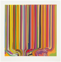 yellow, orange by ian davenport