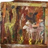 zulzu warriors with white horses by purvis young