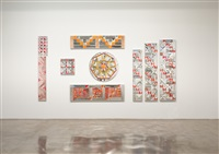 installation in 9 elements by monir shahroudy farmanfarmaian