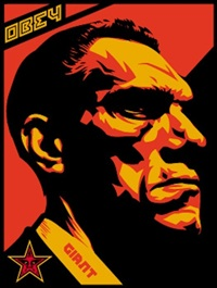 big brother profile by shepard fairey