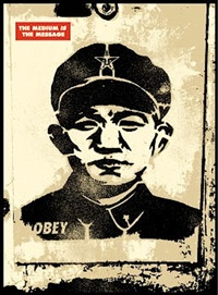 chinese stencil by shepard fairey