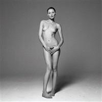 carla bruni<br/>safe sex campaign by michel comte