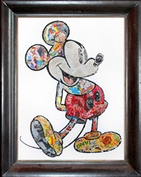 mickey by mr. brainwash