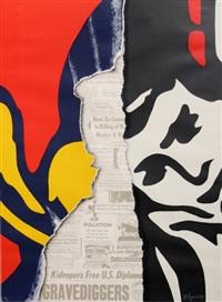 walls '70 (1) by burhan cahit dogançay