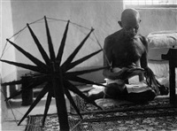 gandhi, india by margaret bourke-white