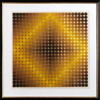 dia or cf by victor vasarely