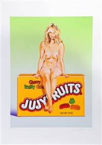 jujyfruit judy by mel ramos