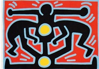 growing 3 by keith haring