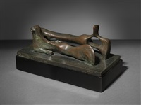 reclining man & woman by henry moore