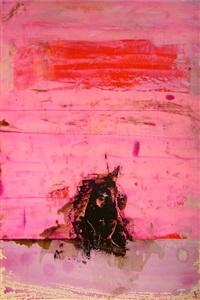 pink rothko monkey by richard allen
