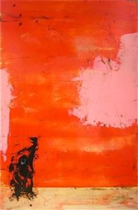red rothko monkey by richard allen