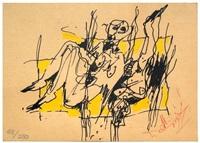 last exhibition invitation by alejandro santiago