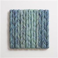bas-relief panels for architectural projects by sheila hicks