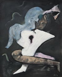 ma tante (my aunt) by dorothea tanning