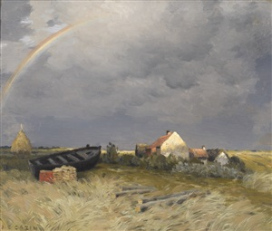 the rainbow by jean-charles cazin