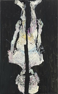 ohne hose in avignon by georg baselitz