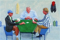 card players #1 by david hockney