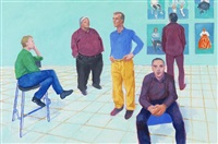 the group iii, 16-22 april by david hockney