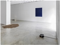 installation view by giovanni anselmo