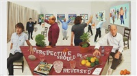 perspective should be reversed by david hockney