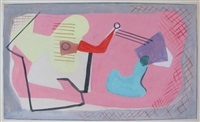 mural study by louis schanker