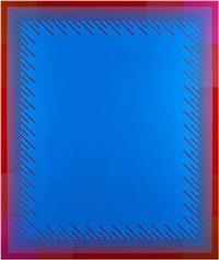 soft blue by richard anuszkiewicz