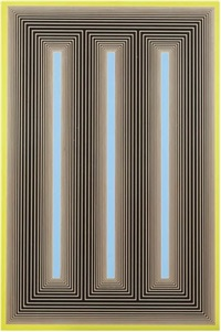 temple of the dusk blue by richard anuszkiewicz