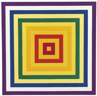 6. scramble: ascending yellow values/ descending spectrum by frank stella
