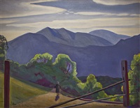 in the adirondacks by rockwell kent