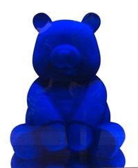 pandasan (blue klein panda) by hiro ando