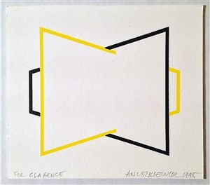 untitled-annual edition by richard anuszkiewicz