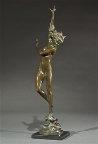 crest of the wave by harriet whitney frishmuth