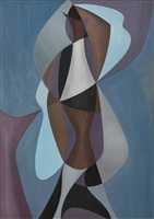 abstract form i by charles green shaw